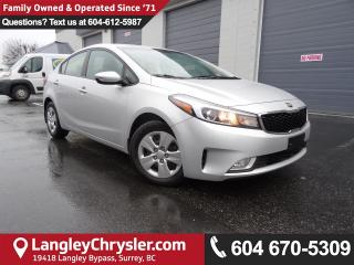 Used 2017 Kia Forte LX *ACCIDENT FREE*ONE OWNER*LOCAL BC CAR* for sale in Surrey, BC
