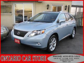 Used 2010 Lexus RX 350 AWD NAVIGATION LEATHER SUNROOF for sale in Toronto, ON