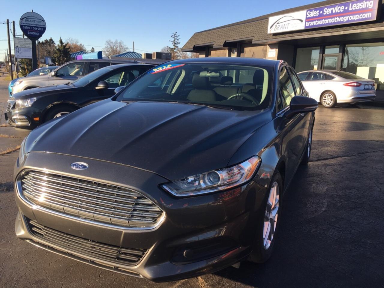 Photo of Dark Grey 2016 Ford Fusion