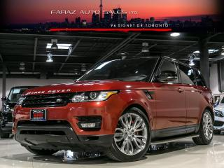 Used 2014 Land Rover Range Rover Sport 7 PASSENGER|V8 SUPERCHARGED|B.SPOT|ADP CRUISE|DYNAMIC|LOADED for sale in North York, ON