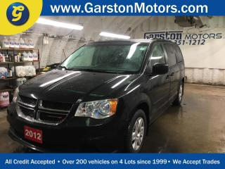 Used 2012 Dodge Grand Caravan SXT*DUAL ROW STOW N GO*REAR POWER VENTS AND SECOND ROW WINDOWS*POWER WINDOWS/LOCKS/HEATED MIRRORS*DUAL ZONE CLIMATE CONTROL*ECON MODE* for sale in Cambridge, ON