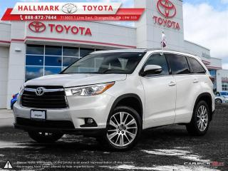 Used 2016 Toyota Highlander XLE AWD for sale in Mono, ON