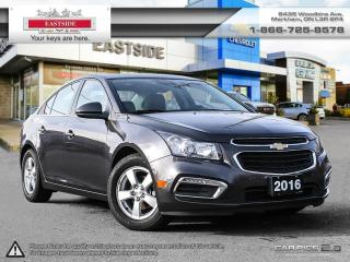 Used 2016 Chevrolet Cruze 2LT Limited LEATHER!ROOF! INTEREST RATE AS LOW AS 0.9% for sale in Markham, ON