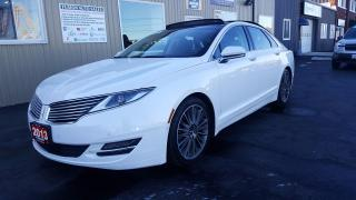 Used 2013 Lincoln MKZ V6-AWD-NAVIGATION-SUNROOF-ADAPTIVE CRUISE for sale in Tilbury, ON