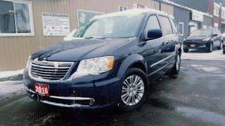 Used 2016 Chrysler Town & Country LEATHER-DUAL DVD-BACK UP CAMERA-PWR LIFTGATE for sale in Tilbury, ON