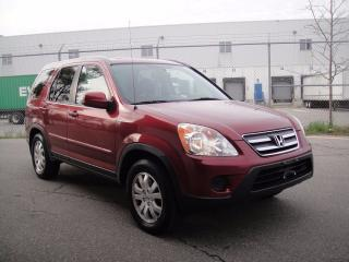 Used 2006 Honda CR-V EX-L MODEL-HEATED LEATHER,SUNROOF,AWD,LOADED for sale in North York, ON