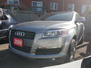 Used 2008 Audi Q7 3.6L/AWD/7 Pass/Navi/Heated Seats/Panoramic Roof for sale in Scarborough, ON