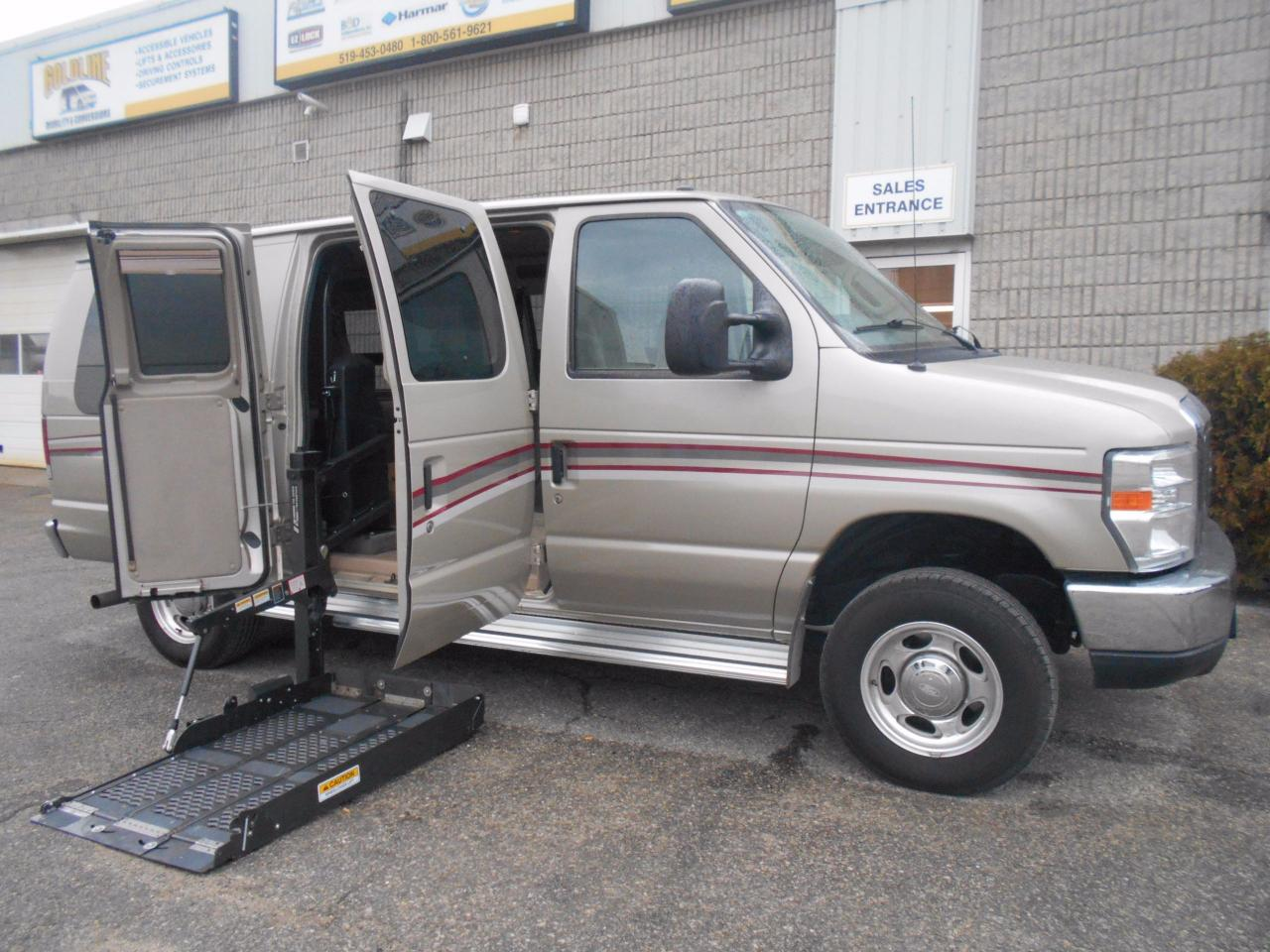 Honda London Ontario >> Used 2011 Ford E-150 Wheelchair Accessible Side Lift for ...