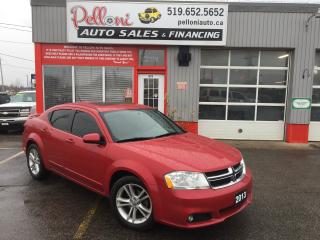 Used 2013 Dodge Avenger SXT SUNROOF+BLUETOOTH NO ACCIDENTS for sale in London, ON