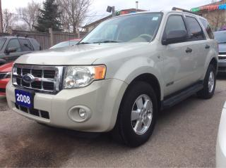 Used 2008 Ford Escape aux input,cruise control, pwr door,win,stearing for sale in Scarborough, ON