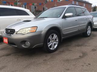 Used 2006 Subaru Outback 2.5XT for sale in Scarborough, ON