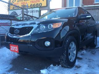 Used 2013 Kia Sorento aux,usb,blue tooth,park assist,heated seats,keyles for sale in Scarborough, ON
