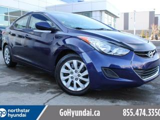 Used 2013 Hyundai Elantra GL AUTO/HEATEDSEATS/BLUETOOTH for sale in Edmonton, AB