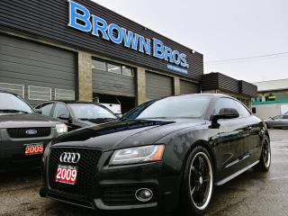 Used 2009 Audi A5 2DR COUPE MANUAL for sale in Surrey, BC