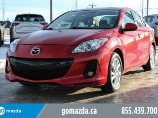 Used 2012 Mazda MAZDA3 GS ACCIDENT FREE 1 OWNER POWER OPTIONS HEATED SEATS BLUETOOTH for sale in Edmonton, AB