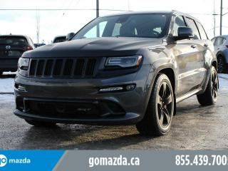Used 2015 Jeep Grand Cherokee SRT 6.4L DVD HEAD RESTS 3M for sale in Edmonton, AB
