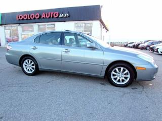 Used 2004 Lexus ES 330 SUNROOF LEATHER CERTIFIED 2YR WARR for sale in Milton, ON
