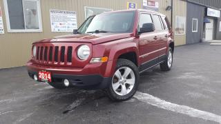 Used 2014 Jeep Patriot North-4WD-HEATED SEATS-REMOTE START-ALLOYS for sale in Tilbury, ON