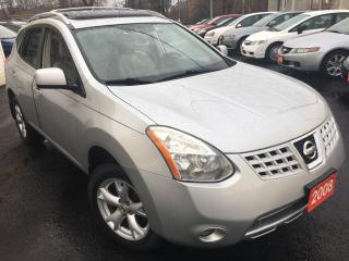 Used 2008 Nissan Rogue SL / Auto / Leather / Sunroof / Alloys / Foglights for sale in Scarborough, ON
