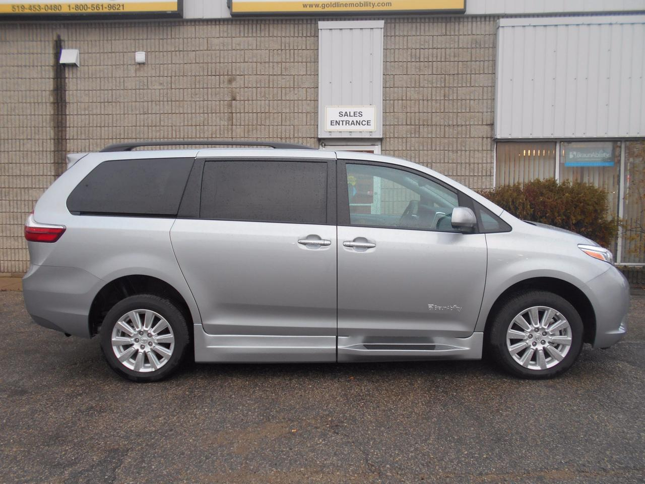 Bmw London Ontario >> Used 2017 Toyota Sienna XLE- Wheelchair Accessible Side ...