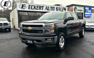 Used 2014 Chevrolet Silverado 1500 LTZ  Z71 4X4 WITH LEATHER/NAV/BLUETOOTH for sale in Barrie, ON