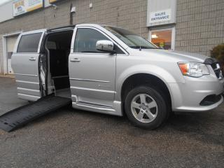 Used 2012 Dodge Grand Caravan SE-Wheelchair Accessible Side Entry Conversion for sale in London, ON