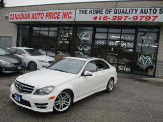 Used 2014 Mercedes-Benz C 300 C 300- 4MATIC-NAVIGATION-PRM-PKG-LOADED for sale in Scarborough, ON
