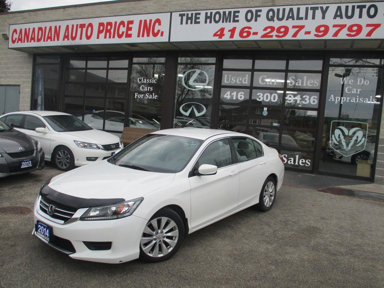 Used 2014 Honda Accord CAMERA-ALLOYS-HEATED SEATS-BLUE-TOOTH for ...