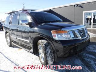 Used 2011 Nissan ARMADA PLATINUM EDITION 4D UTILITY 4WD for sale in Calgary, AB