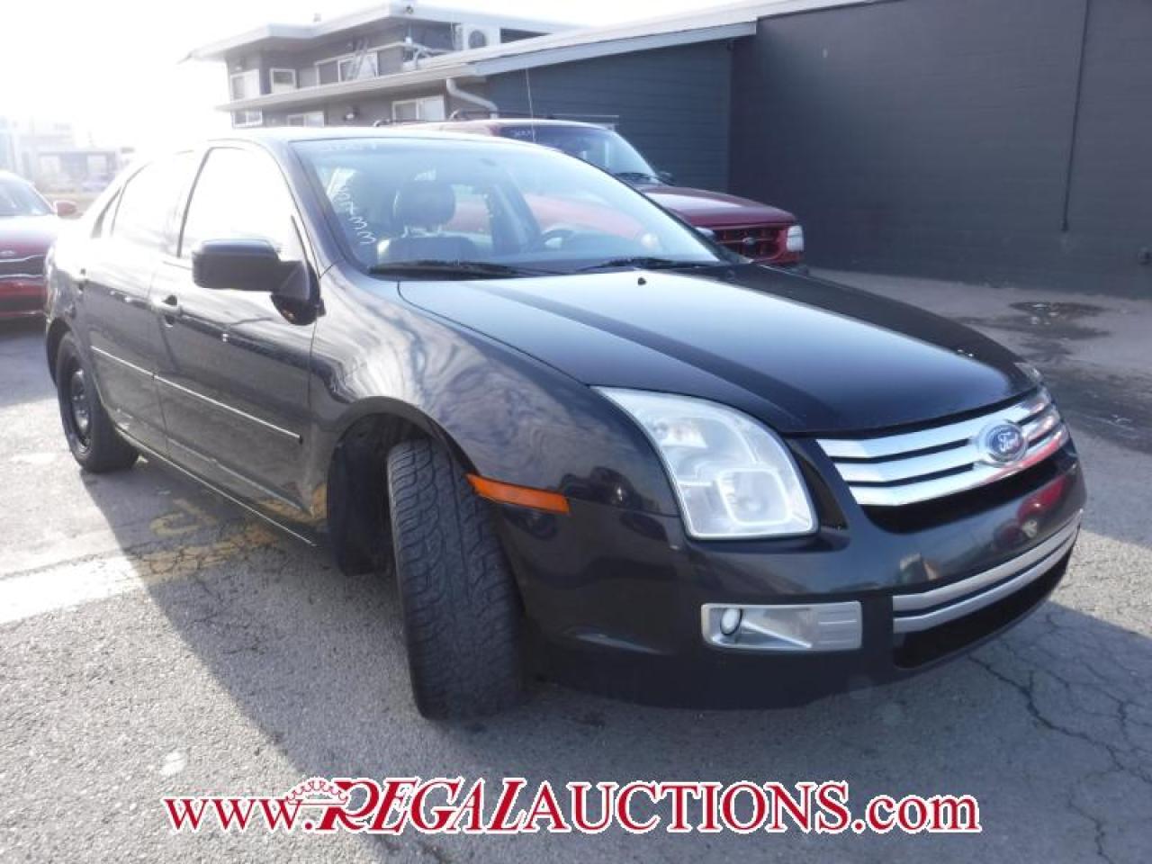Photo of Black 2007 Ford FUSION SEL 4D SEDAN V6 AWD