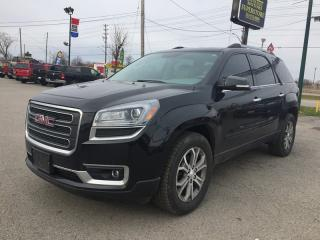 Used 2013 GMC ACADIA SLT-1 * LEATHER * NAV * REAR CAM * BLUETOOTH * POWER LIFT GATE * 7 PASS for sale in London, ON