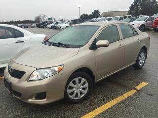 Used 2010 Toyota Corolla CE,AUTO AIR,POWER GROUP for sale in Mississauga, ON