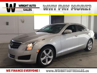 Used 2013 Cadillac ATS Luxury|LEATHER|SUNROOF|LOW MILEAGE|73,998 KMS for sale in Cambridge, ON