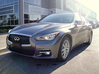 Used 2014 Infiniti Q50 AWD.NAVI,LOADED for sale in Aurora, ON