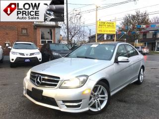 Used 2014 Mercedes-Benz C-Class C300 4MATIC*PanoramicRoof*Navi*Cam*AmgPkg* for sale in York, ON