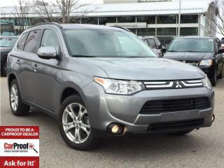 Used 2014 Mitsubishi Outlander GT AWD**LOW KM'S!!**LEATHER**POWER SUNROOF** for sale in Mississauga, ON