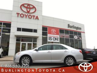 Used 2013 Toyota Camry HYBRID XLE LOW LOW KM'S for sale in Burlington, ON