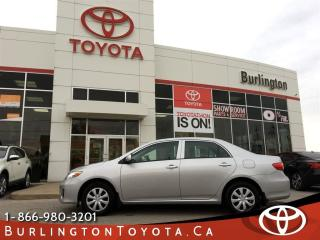Used 2013 Toyota Corolla SUNROOF PACKAGE for sale in Burlington, ON