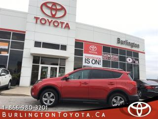 Used 2015 Toyota RAV4 XLE All Wheel Drive for sale in Burlington, ON