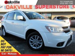 Used 2014 Dodge Journey SXT | 7 PASSENGER | BLUETOOTH | A/C | LOW KM for sale in Oakville, ON