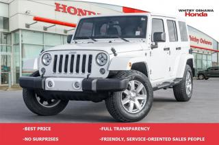 Used 2016 Jeep Wrangler Unlimited Sahara for sale in Whitby, ON