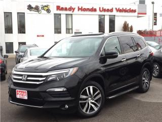 Used 2016 Honda Pilot Touring - Navigation - R.Boards - Leather for sale in Mississauga, ON