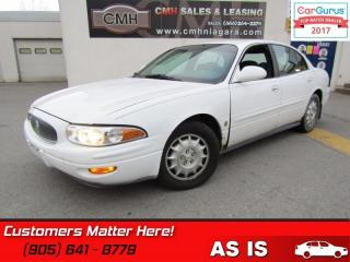Used 2000 Buick LeSabre Limited  AS IS *UNCERTIFIED* AS TRADED IN for sale in St Catharines, ON