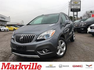 Used 2015 Buick Encore Leather- One Owner -Certified Pew-Owned for sale in Markham, ON