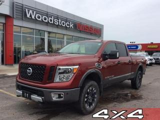 Used 2017 Nissan Titan XD PRO-4X  - Bluetooth -  Power Doors - $371.34 B/W for sale in Woodstock, ON