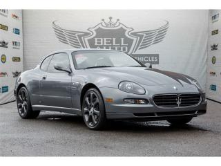 Used 2005 Maserati SPYDER CAMBIOCORSA F1 PADDLESHIFT for sale in North York, ON