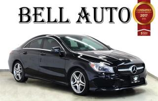Used 2014 Mercedes-Benz CLA-Class 4MATIC PANORAMIC ROOF LEATHER for sale in North York, ON