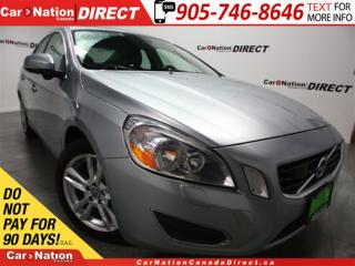 Used 2012 Volvo S60 T6| AWD| LEATHER| SUNROOF| PUSH START| for sale in Burlington, ON