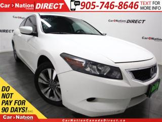 Used 2010 Honda Accord EX| SUNROOF| WE WANT YOUR TRADE| for sale in Burlington, ON