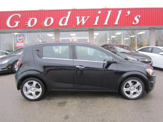 Used 2012 Chevrolet Sonic LT! SUNROOF! for sale in Aylmer, ON